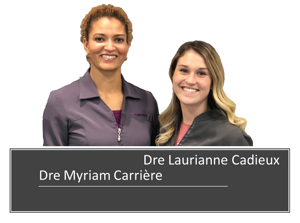 Dre Myriam. Carriere-Dre Laurianne Cadieux