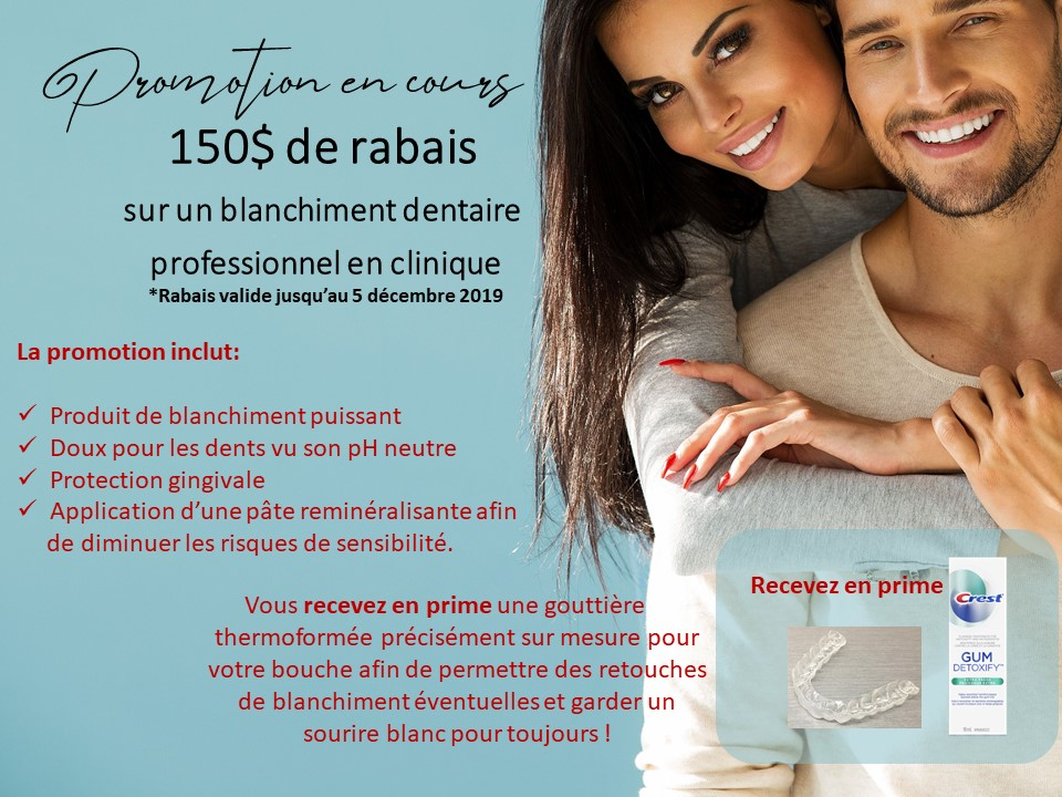 Promotion-SOURIRE-etincelant -Clinique Dentaire Carriere